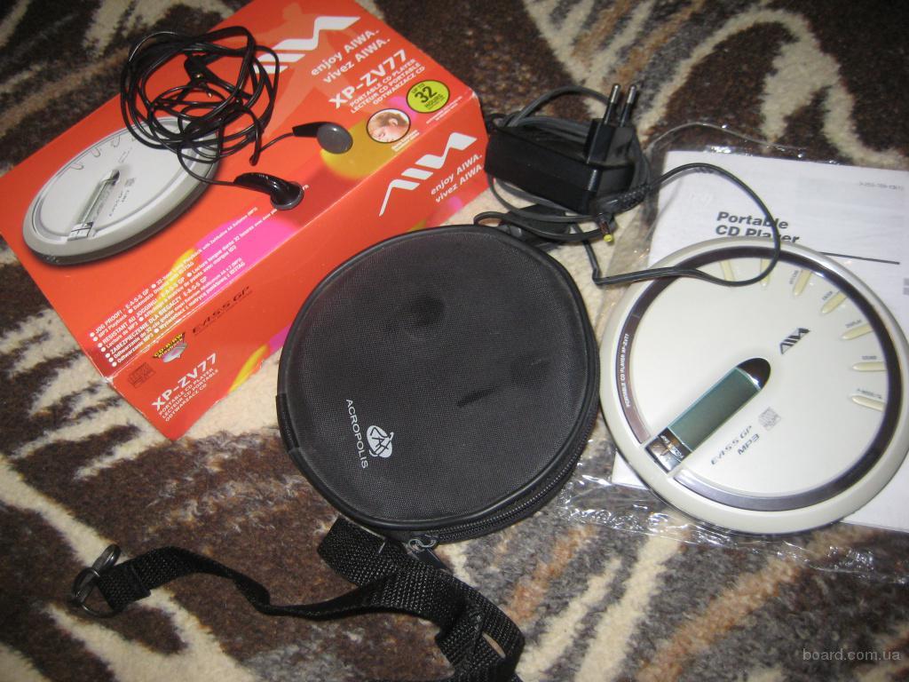 Проигрыватель дисков MP3/CD марки AIWA XP-ZV77
