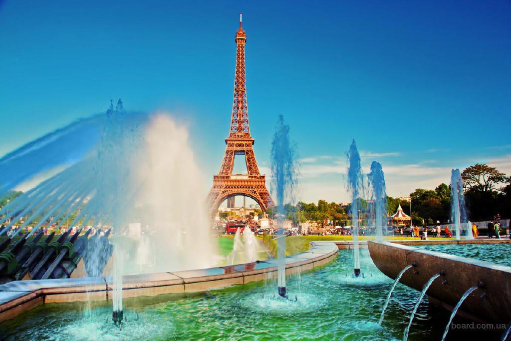 тур в Париж, групповой экскурсионный тур в Париж 4дня/3ночи + авиа