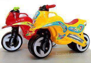 Беговел,толокар,мотоцикл Киндервей ,4 цвета!низкая цена!!!