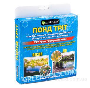 Биопрепараты для очистки прудов, озер, ставков