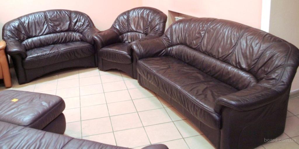 Мягкая мебель, кожаный диван, кожаное кресло, офисная мебель, Запорожье