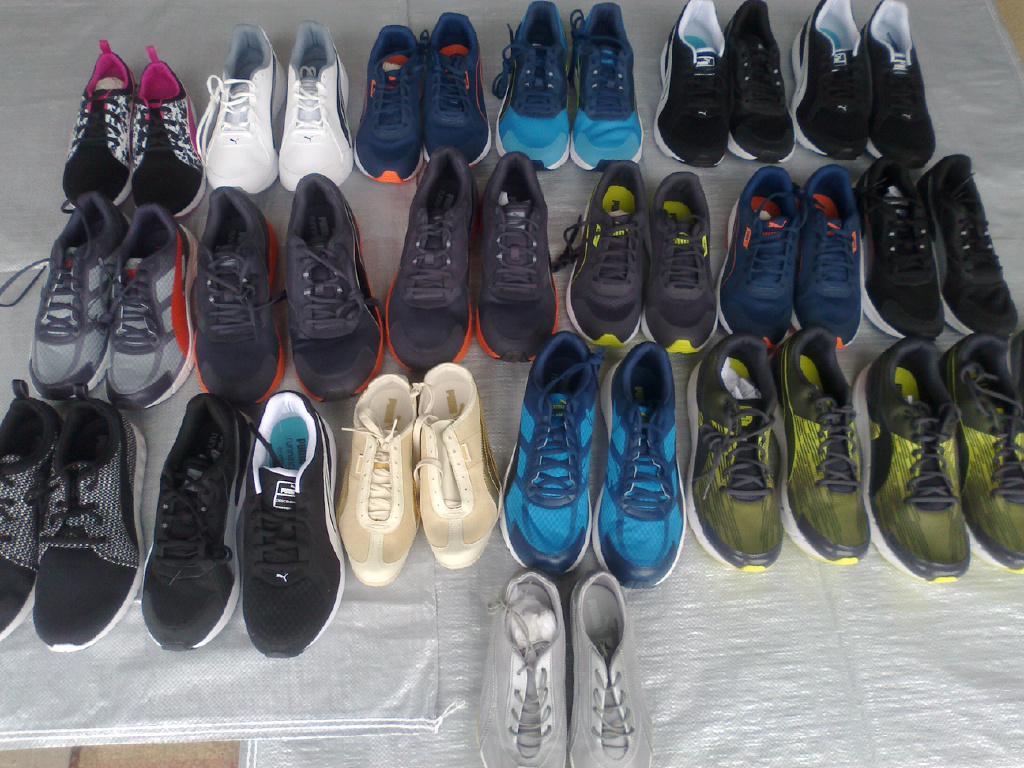 Оригинальные кроссовки Puma.  Mix.  Размеры:  36-46.  20 пар.