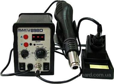 паяльная станция BAKU 898D фен паяльник в комплекте
