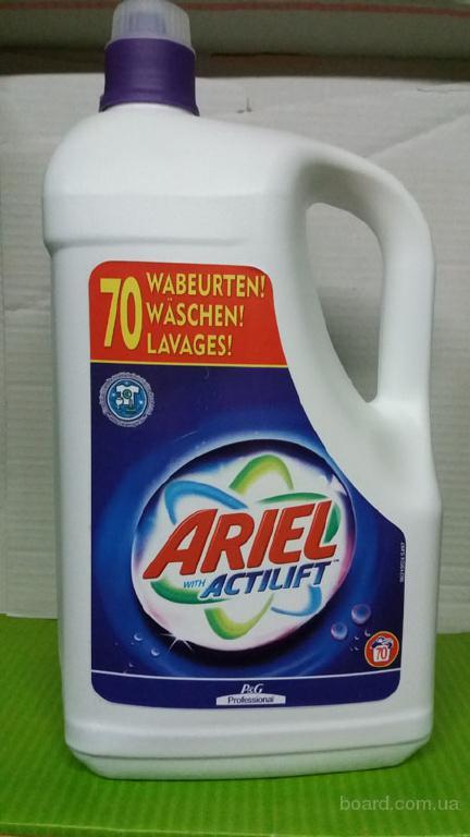Немецкий гель для стирки Ariel Actilift 4,970 kg цена 110 грн.