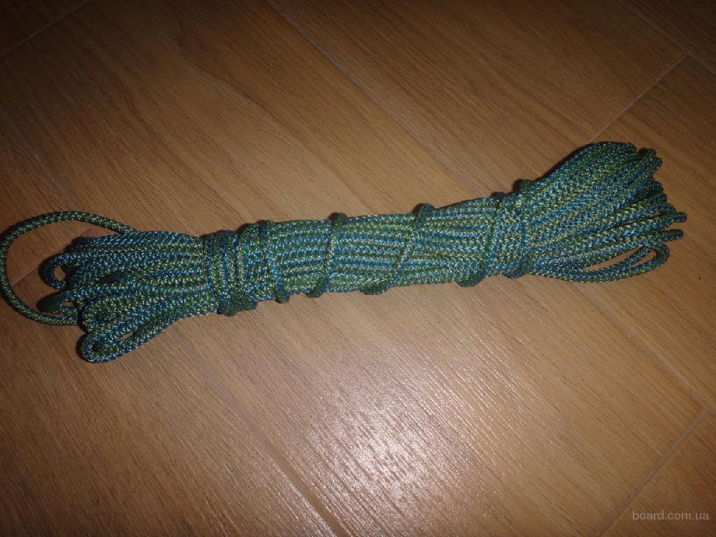Веревка бытовая (шнур полипропиленовый), крепкая