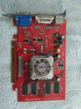 Продам видеокарту с PCI-e шиной