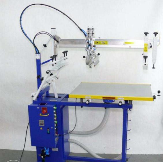 Шелкотрафаретный полуавтомат HA 5070.