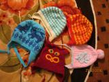 Пакет вещей (шапки зимние)