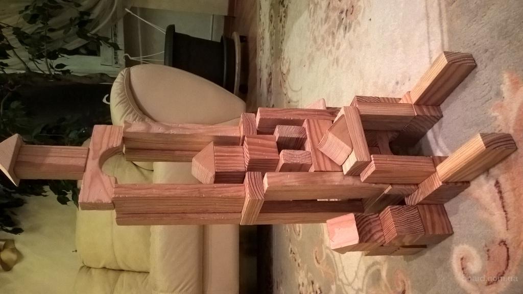 Конструктор деревянный, кубики деревянные, деревянные игрушки, детский конструктор, деревянные развивающие игрушки