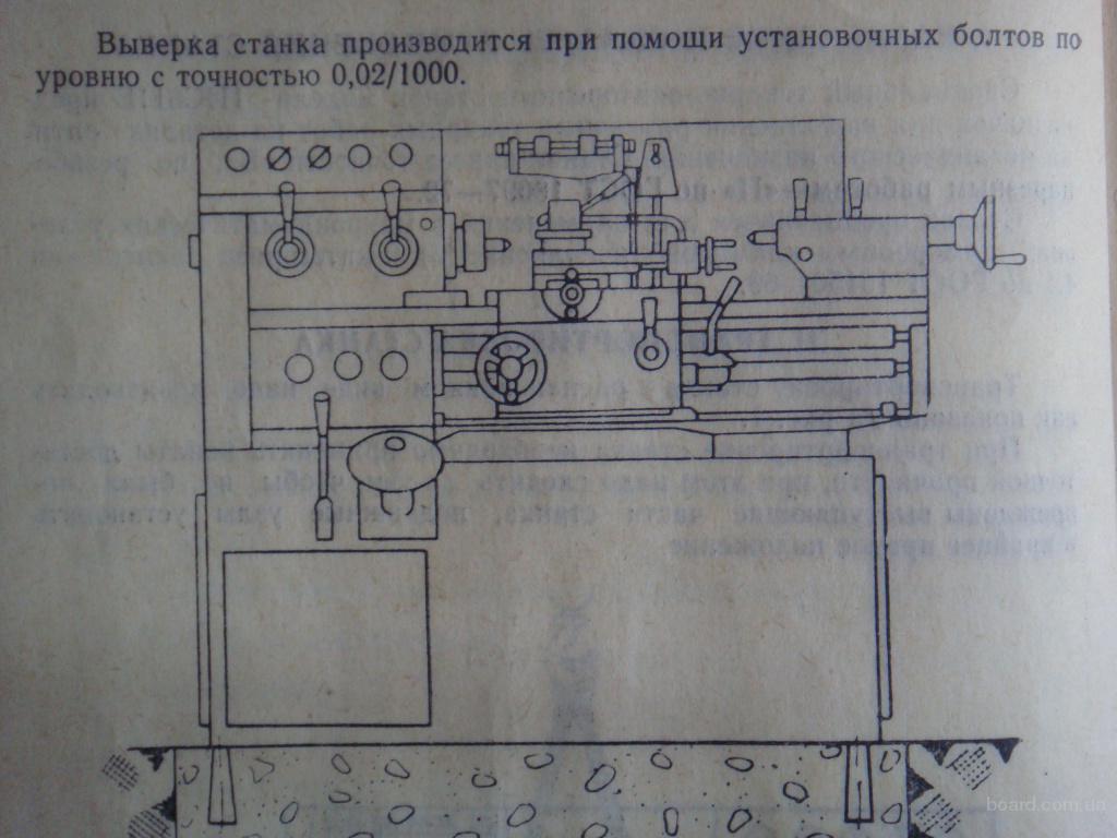 Инструкция по эксплуатации токарно-винторезного станка ИЖ.  (продам)