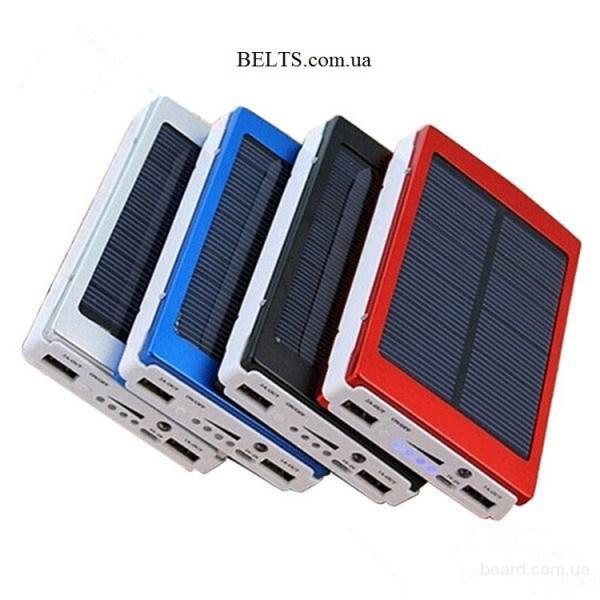 Киев.Мобильное зарядное устройство (солнечная зарядка Пауэр Банк Солар 6000 мАч)