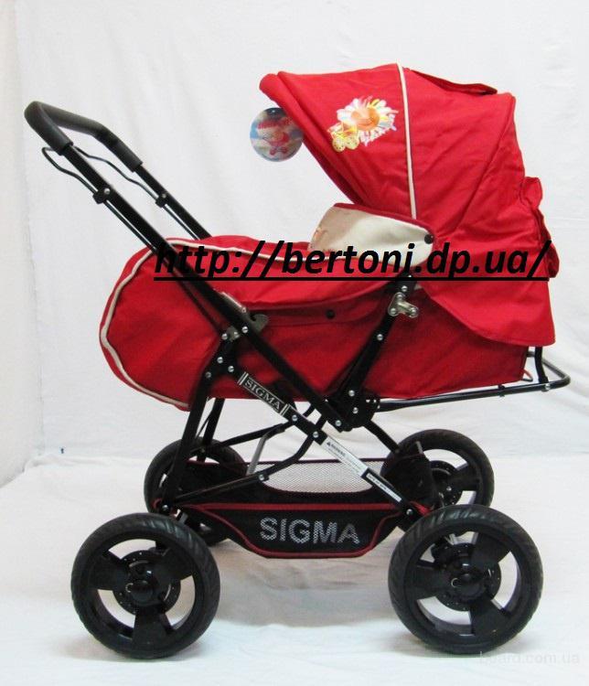 Детская коляска Sigma H-T(whs)-d