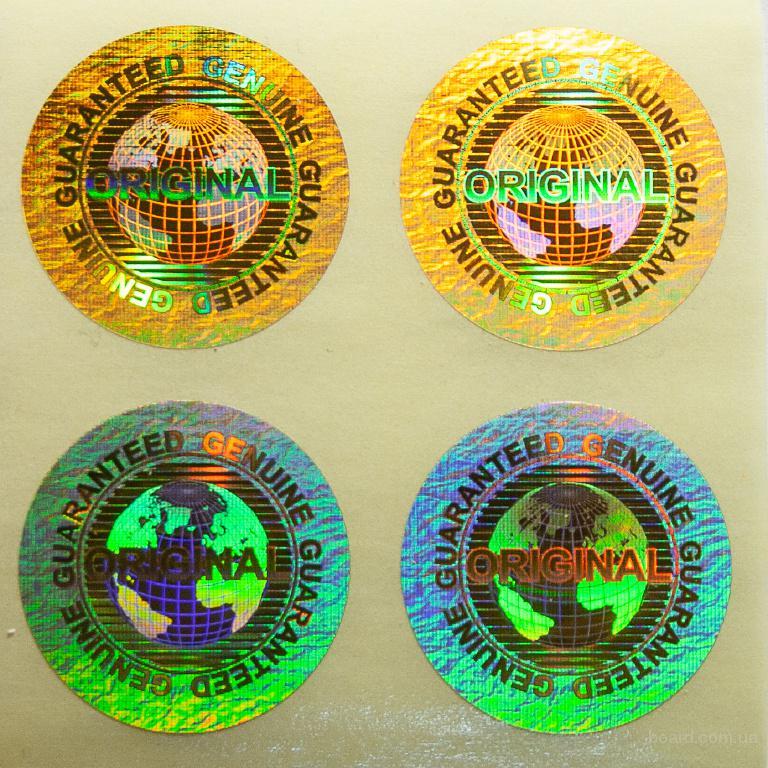 Голограммы, защитные этикетки, пластиковые карты от производителя