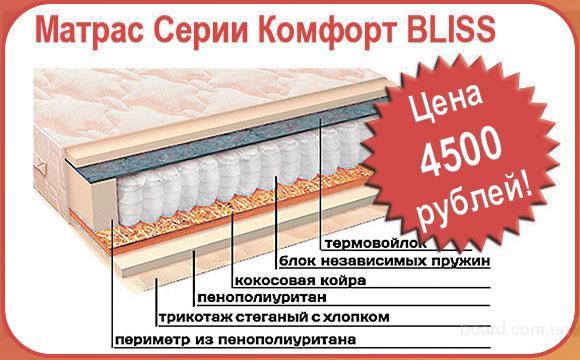 Ортопедические матрасы Вега в Крыму