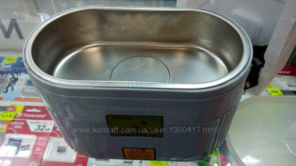 Ультразвуковая ванна DADI DA-3A  Ультразвуковая ванна (мойка) dadi da-3a, объём резервуара 600 мл, 40 кгц, очистка и обеззараживание, 220в