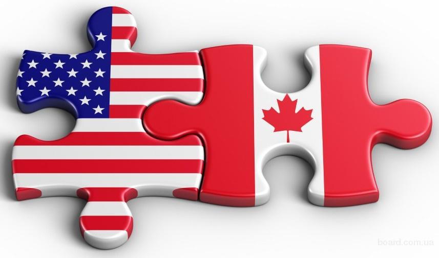 Візи в США і Канаду