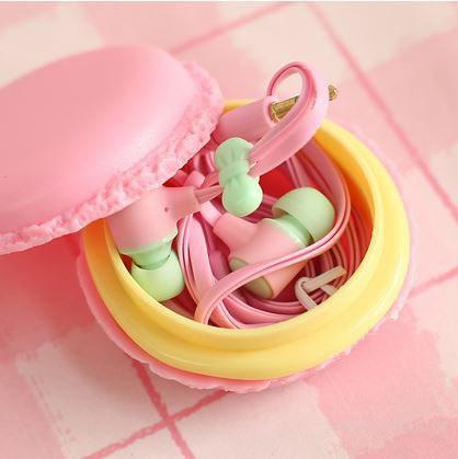 Наушники Macarons - супер креативные с отличным звучанием.