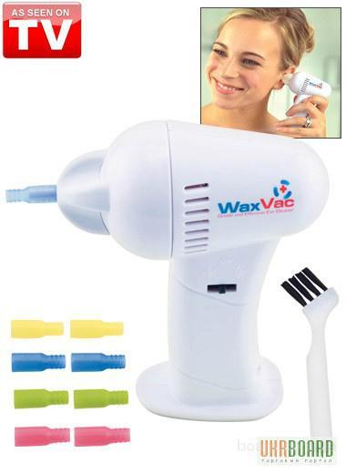 Прибор для чистки ушей WaxVac Ear cleaner - доктор Вак