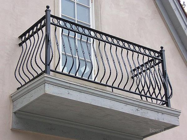 Кованные ограждения, балконы от завода кованых изделий в Минске