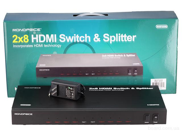 HDMI свитч или HDMI сплиттер 2×8