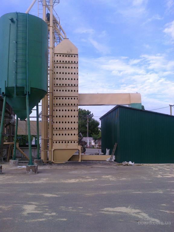 установка зерносушилок
