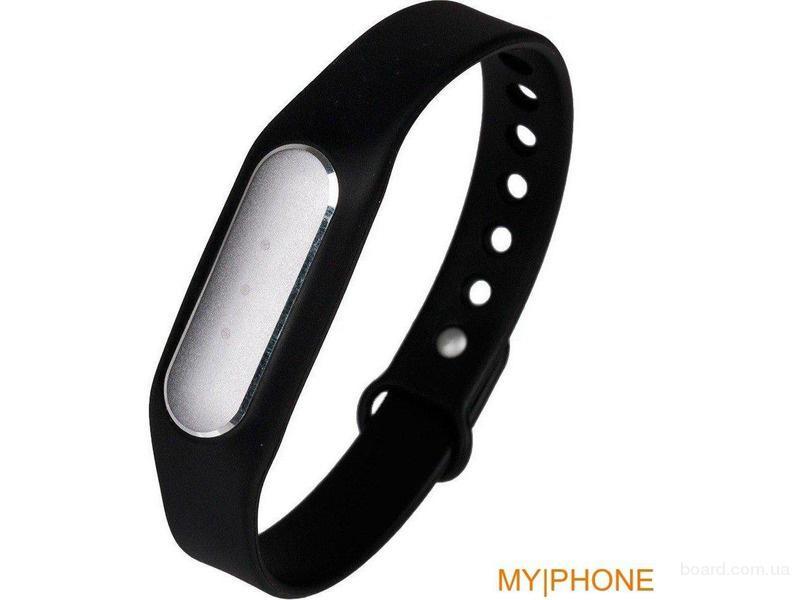 Фитнес браслет с часами. LED подсветка!
