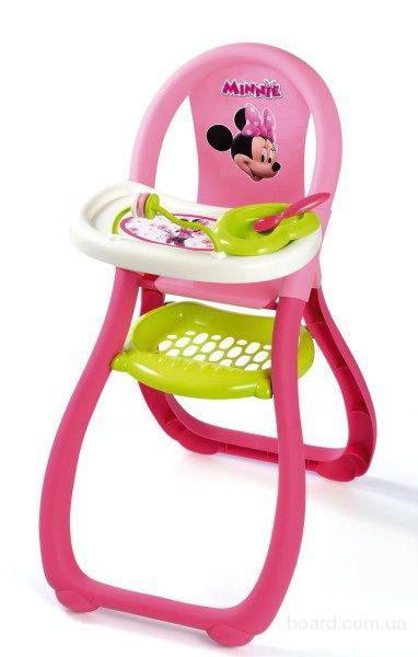 Стульчик для кормления пупса Minnie Mouse Smoby 24206