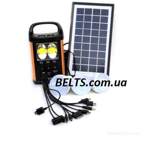 Киев..Аккумулятор GD Light GD-8031 с лампами (солнечная система 8031)