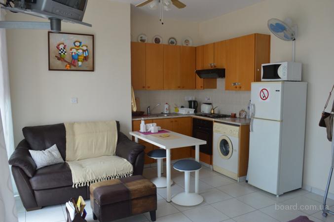Однокомнатная квартира на кипре