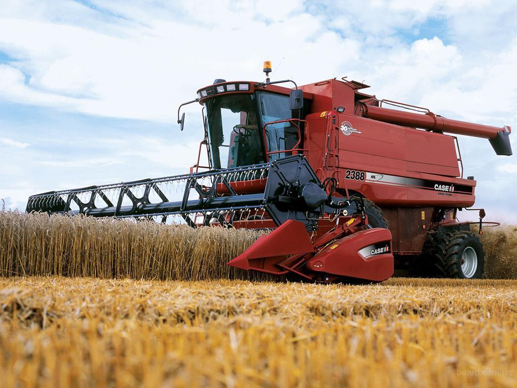 Предоставим услуги уборки урожая – выгодные условия