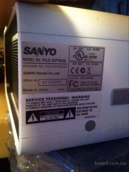 Проектор Sanyo PLC-XP100L