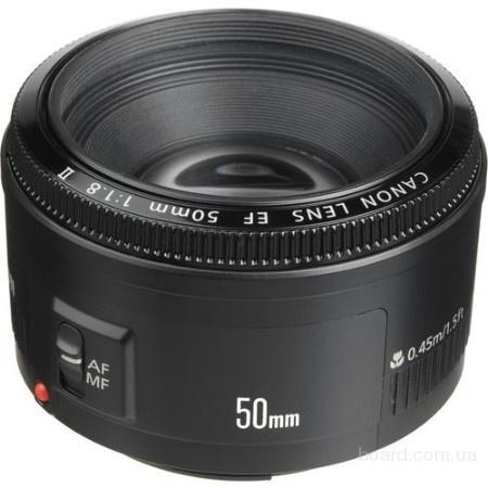 Продам Canon EF 50mm f/1.8 II