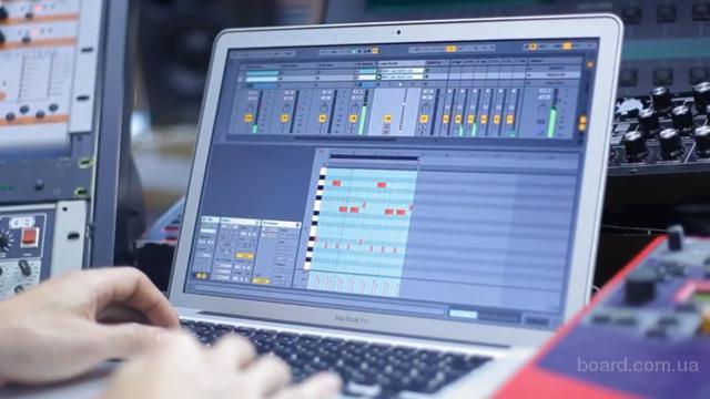 Частные уроки создания музыки на компьютере на дому. Киев