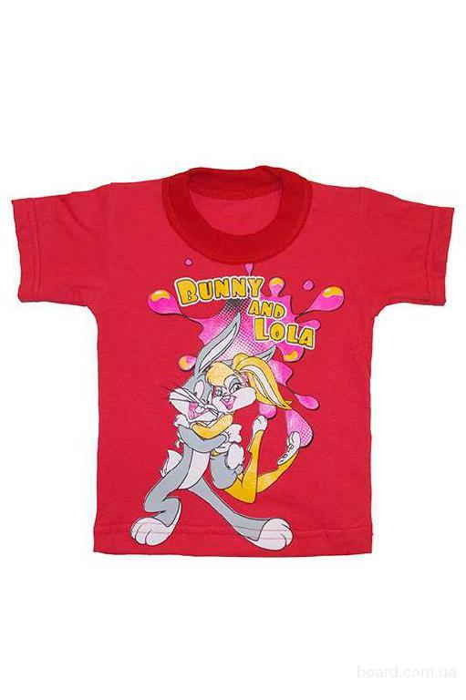 Детские футболки и пижамы с накатом в ассортименте