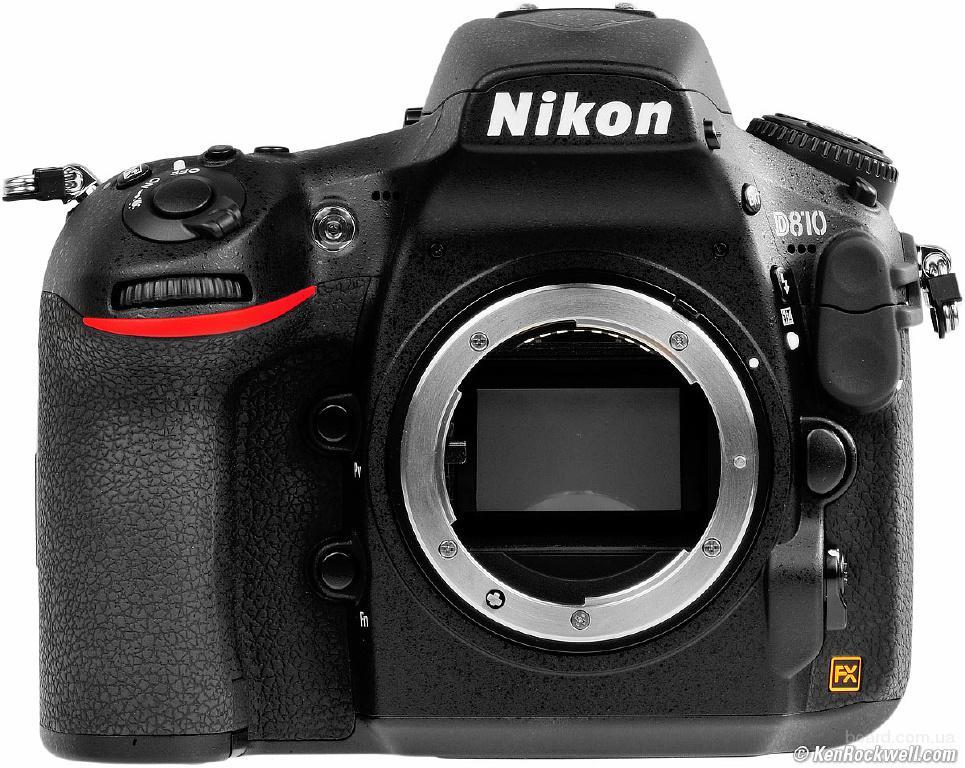 Nikon D810 DSLR Camera, Барановка