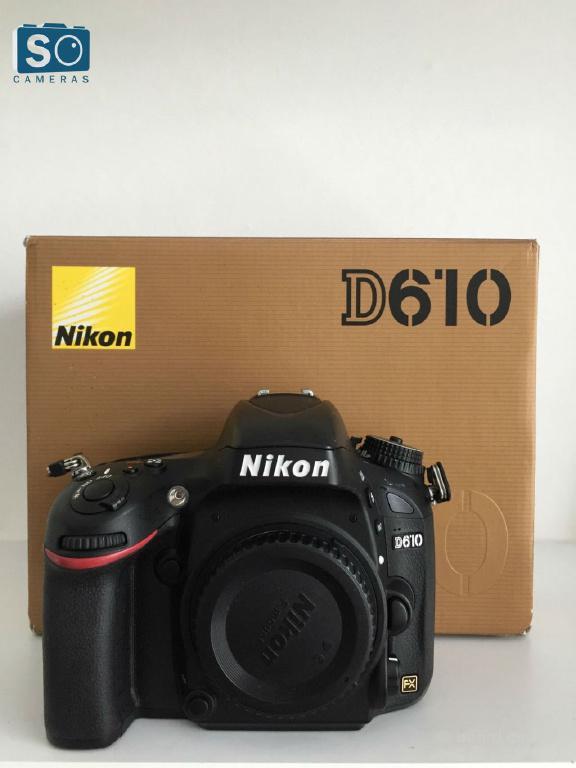 Nikon D610 DSLR камеры только корпус