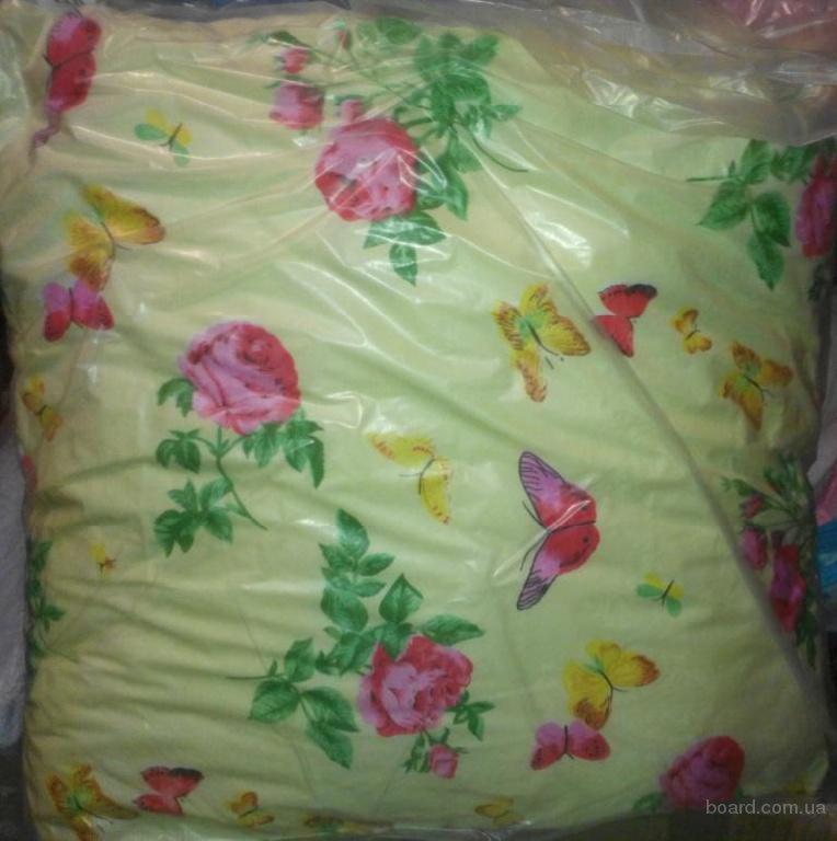 Подушка хлопковая холофайбер все размеры ассортимент расцветок