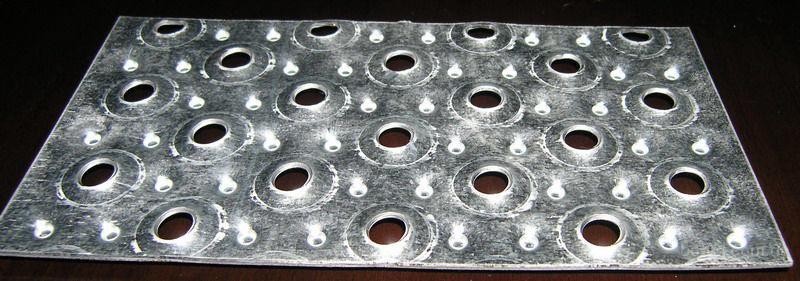 Перфорированный металлический лист – производство