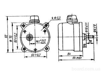 Д-32 электродвигатель асинхронный конденсаторный