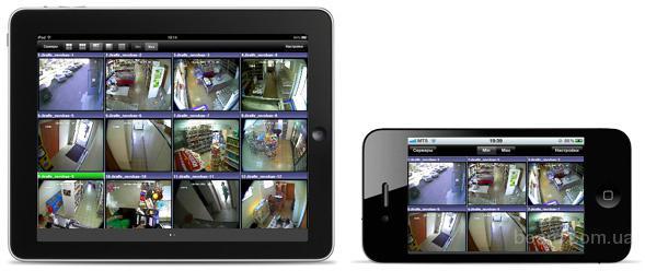 Производим установку и обслуживание видеонаблюдения.