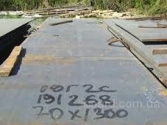 Лист стальной 09Г2С толщина 5-200 мм