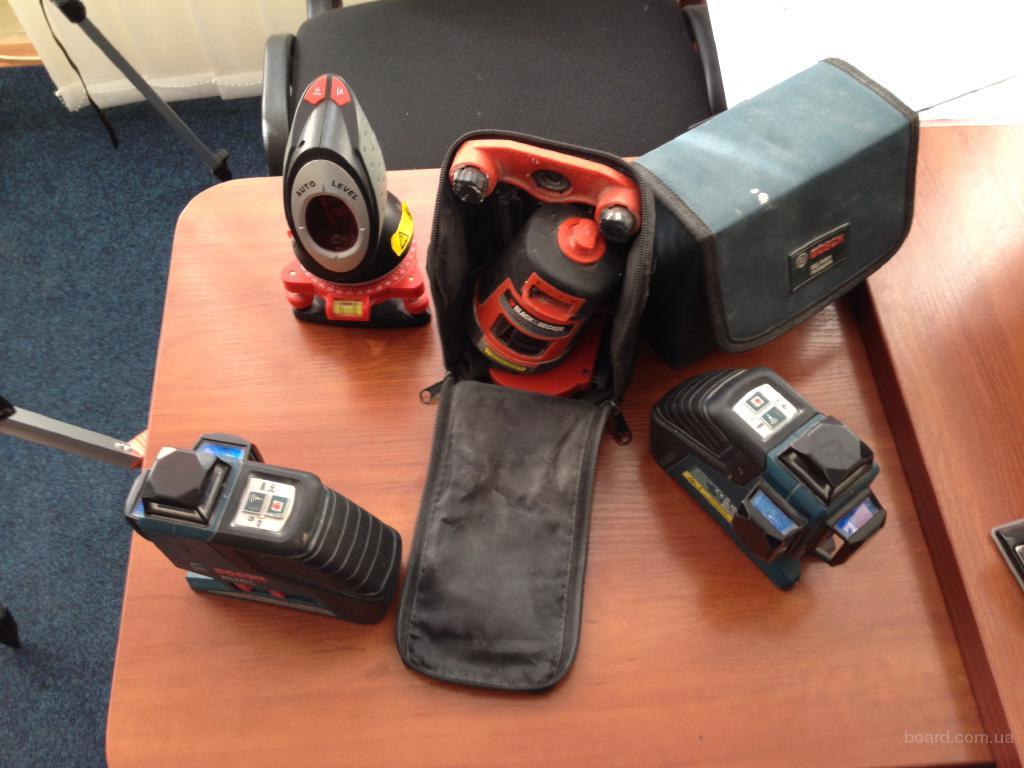 Ремонт лазерных уровней Bosch GLL 3-80 P, GLL 2-80 P, PCL 20, PCL 360