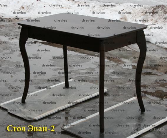 Стол обеденный Эван-2 из массива ольхи