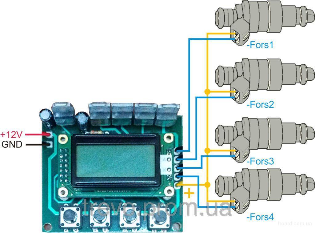 Устройство FORS-CL1 для проверки и чистки автомобильных форсунок