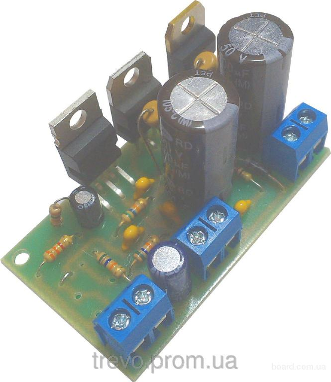 Усилитель звука на TDA 2030 + BDX33C