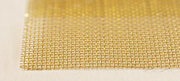 Сетка тканая латунная Л-80 0,14-0,09 ГОСТ 6613-86