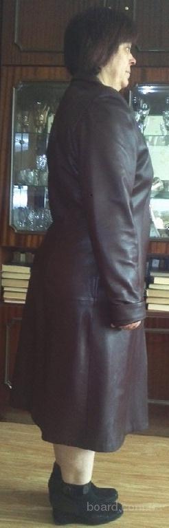 Плащ кожаный (натуральная) турецкий