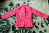 Новая женская демисезонная курточка, размер 44-46, розовая