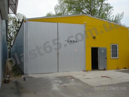 Построить ангар, склад под ключ в Украине.