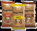Новинка! Соевые орехи в ассортименте ( с сыром, беконом, какао, васаби, зеленью, грибами)